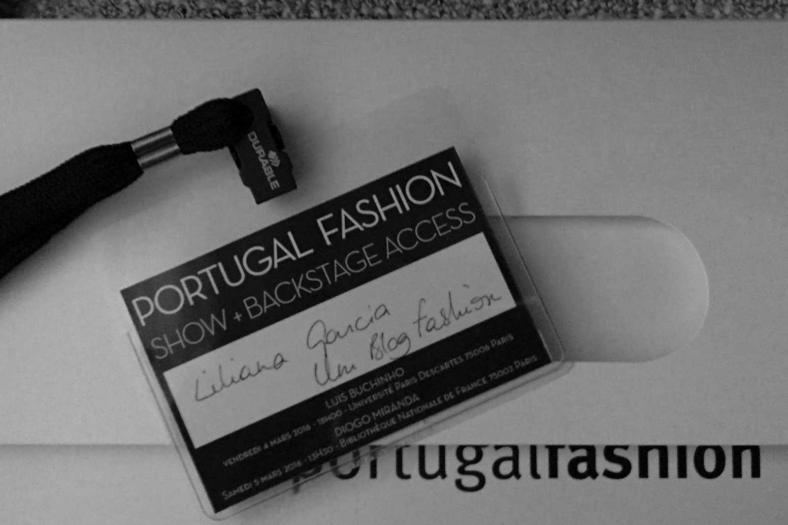 SHOW AND BACKSTAGE PORTUGAL FASHION #PFW