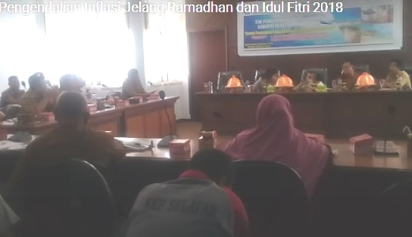 Rakor TPID Bahas Antisipasi Inflasi, Dan Kenaikan Harga Jelang Ramadhan
