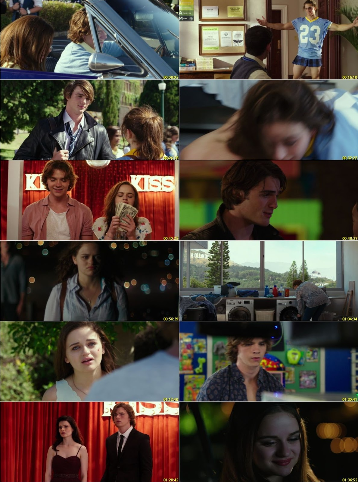 Watch Online Free The Kissing Booth (2018) Hindi Dual Audio 480p 720p WEB-DL
