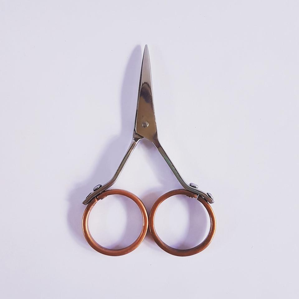 Brass-handled-craft-scissors