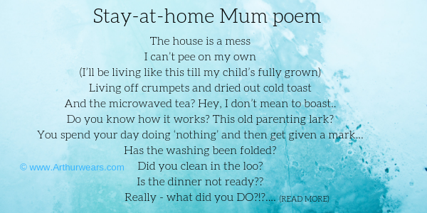 stay at home mum poem