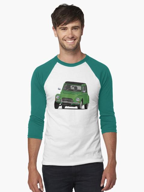 Citroën Dyane clothing & shirts