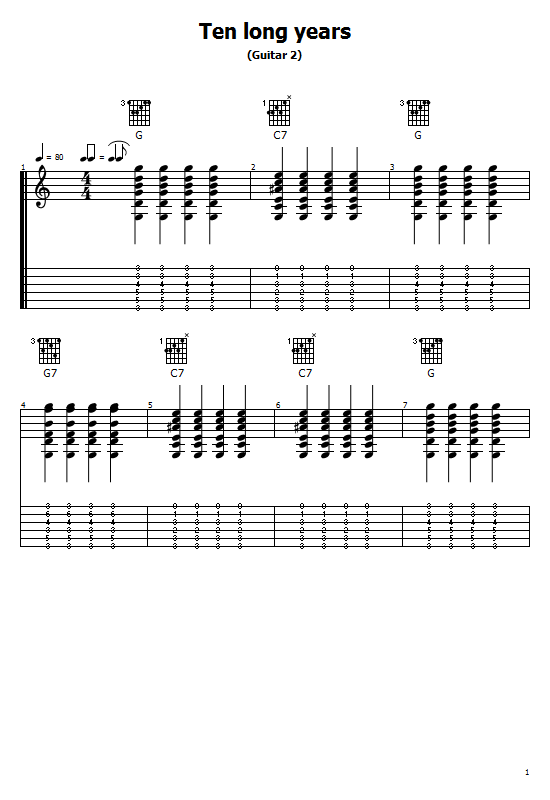 Ten Long Years Tabs B.B. King - How To Play Ten Long Years - B.B. King On Guitar Tabs & Sheet Online