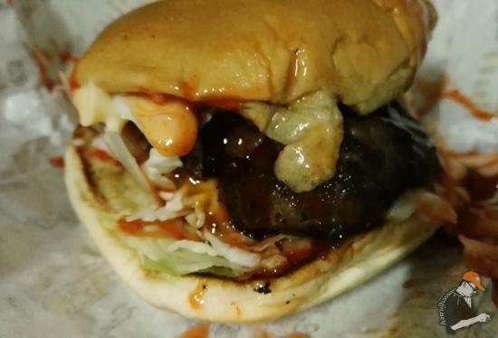 Burger Bakar Meletup