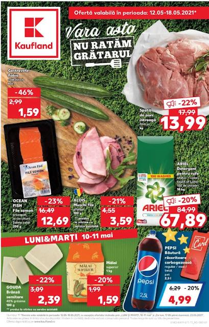 Kaufland Promotii + Catalog-Brosura 12-18.05 2021 → FRESH | Digital Kaufland Card Reducere