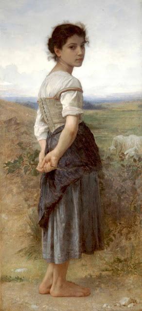 Адольф Вильям Бугро - Юная пастушка (1885)