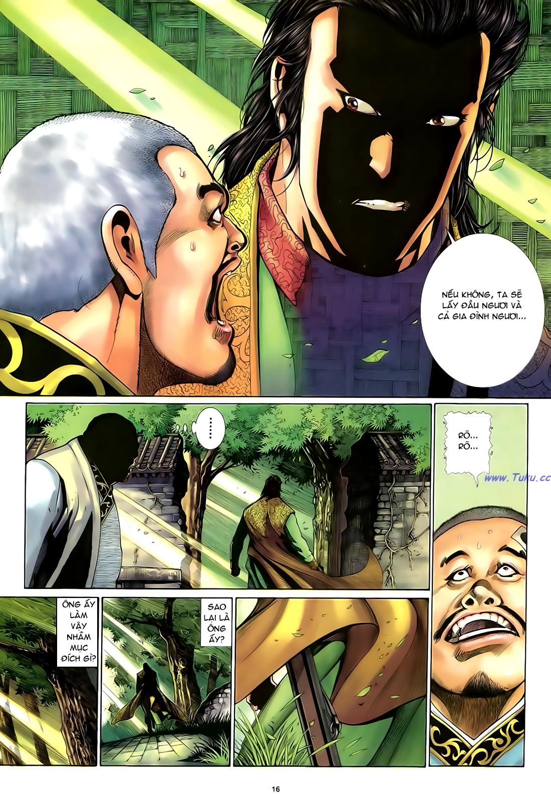 Anh hùng vô lệ Chap 29 trang 17
