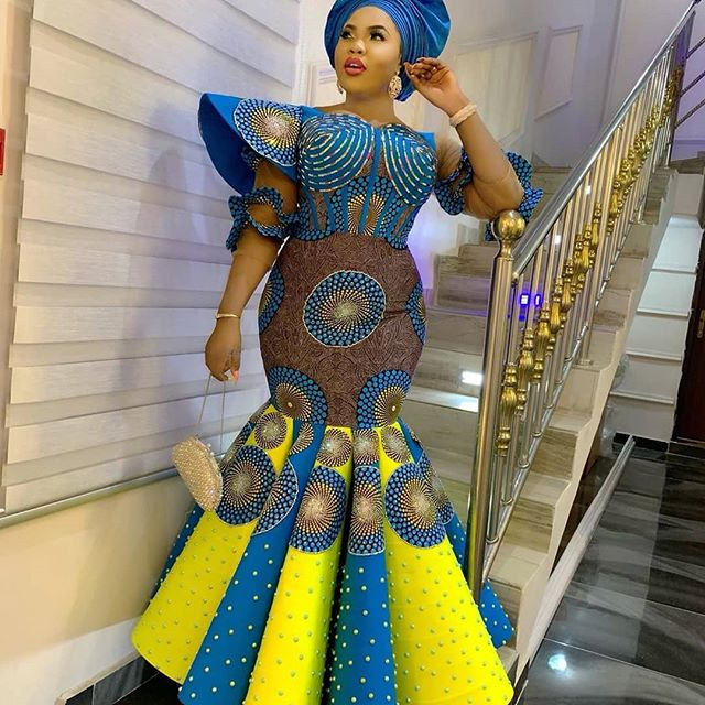 African Dresses Styles 2019 New Fashion Design For Smart Ladies