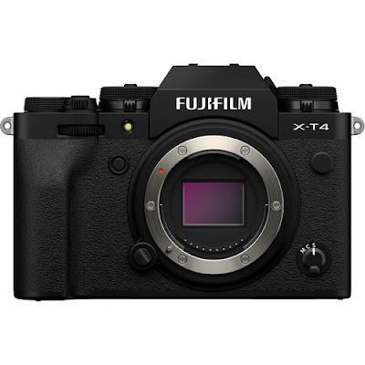 Fujifilm X-T4ミラーレスデジタルカメラファームウェアのダウンロード