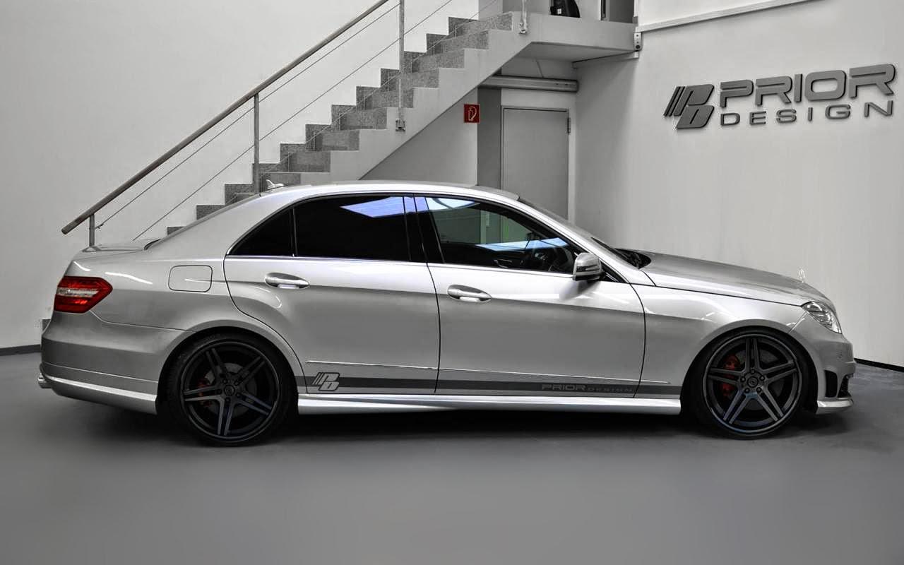 MercedesBenz EClass W212 by Prior Design BENZTUNING