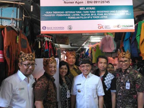 Layanan retribusi elektronik pasar rakyat bank BNI