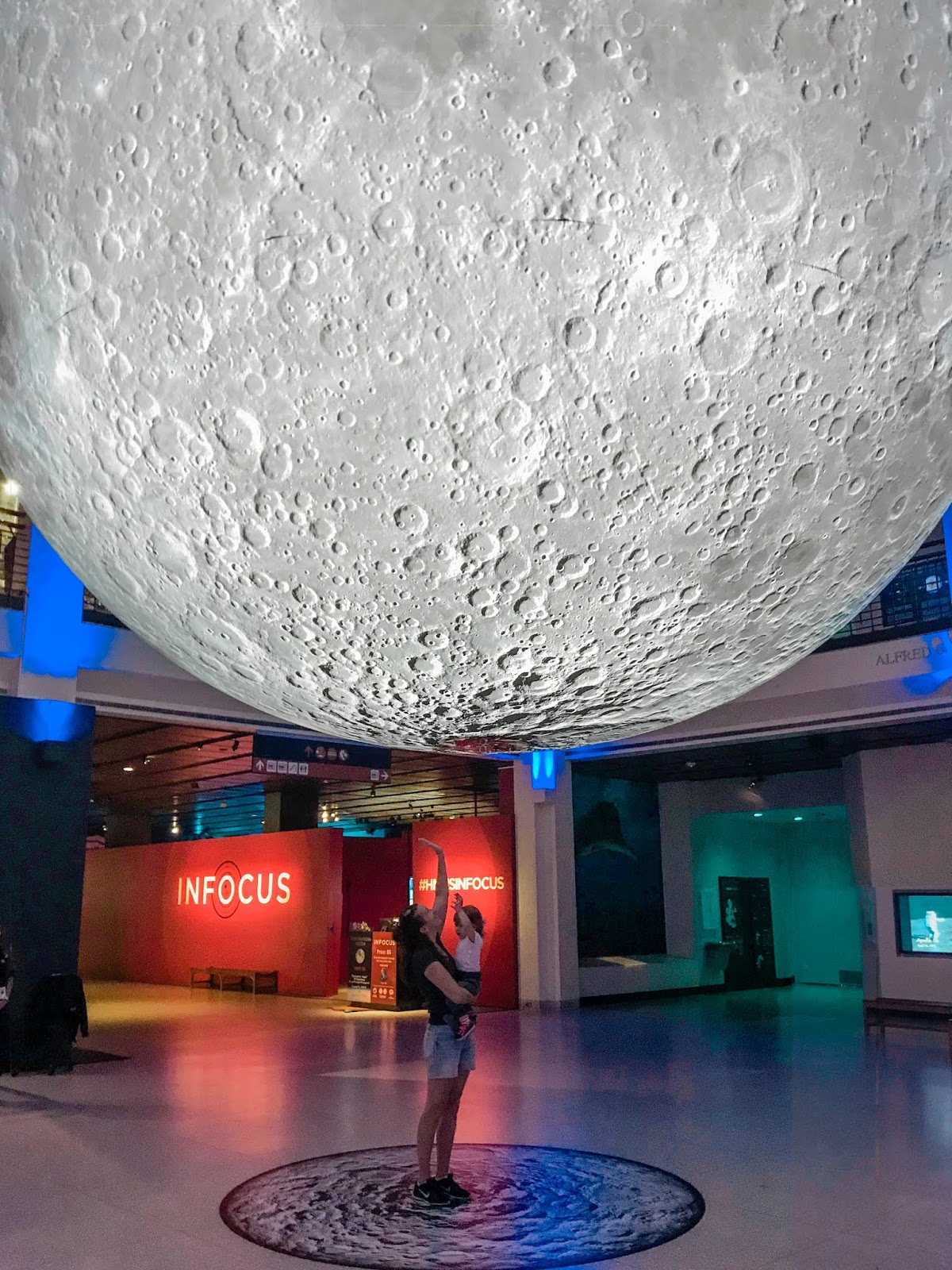 Houston Museum of Natural Science's The Moon Installation