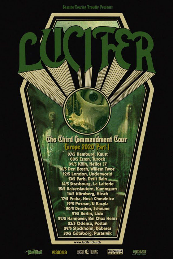 Lucifer European tour