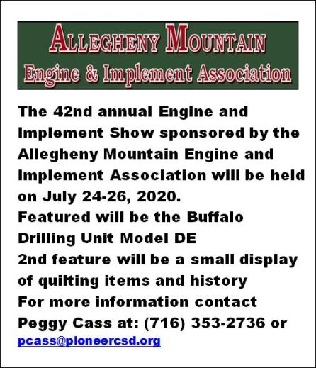 7-24/25 42nd Annual Engine And Implement Show