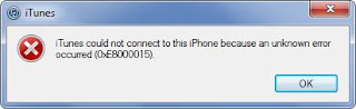 """how-to-fix-iTunes-error-8000015-1 iPhone / iPad won't connect to iTunes error """"unknown error 0xE8000015"""" tips"""