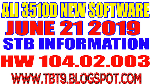 ALI3510D HARDWARE 104.02.003 POWERVU TEN SPORTS OK NEW SOFTWARE