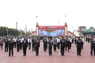 HUT ke-75 Bhayangkara, 1.099 Personil Polda Sumut dan PNS Polri Naik Pangkat