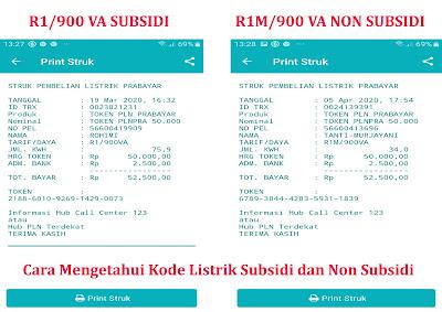 Cara Mengetahui Kode Listrik Subsidi dan Non Subsidi