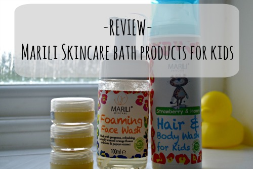 Marili skincare for kids review