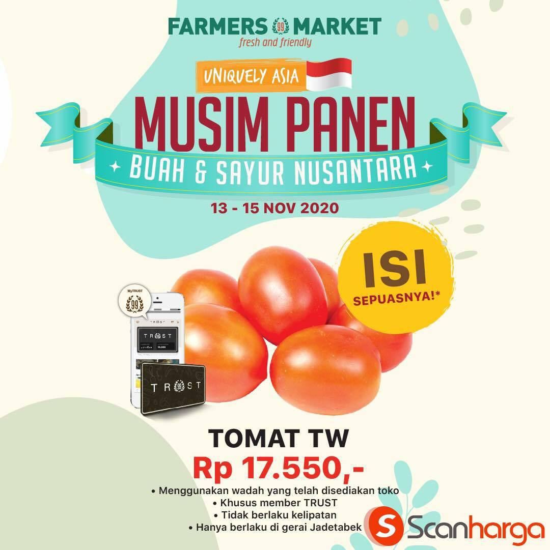 Farmers Market Promo Buah & Sayur mulai dari Rp 17.550* Bisa Isi SEPUASNYA!