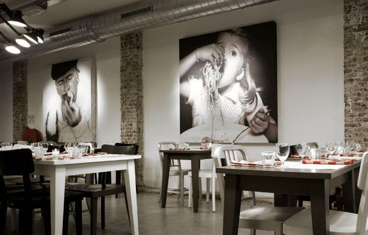 vintage wall paint ideas for restaurants