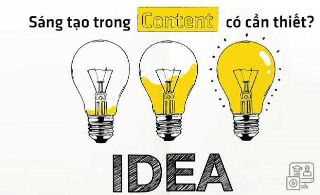 Lên ý tưởng hấp dẫn cho bài viết