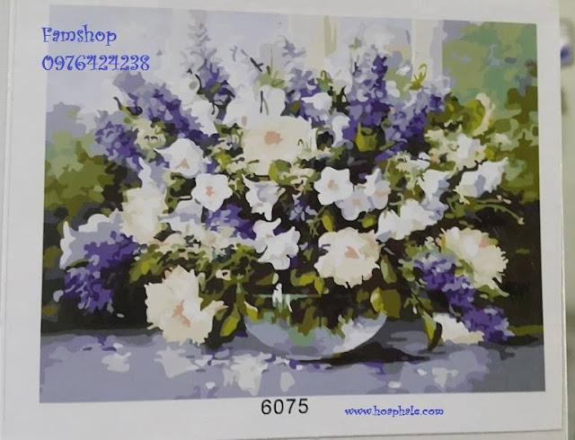 Tranh son dau so hoa o Pho La Duong