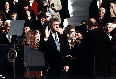 Bill Clinton Inauguration Day