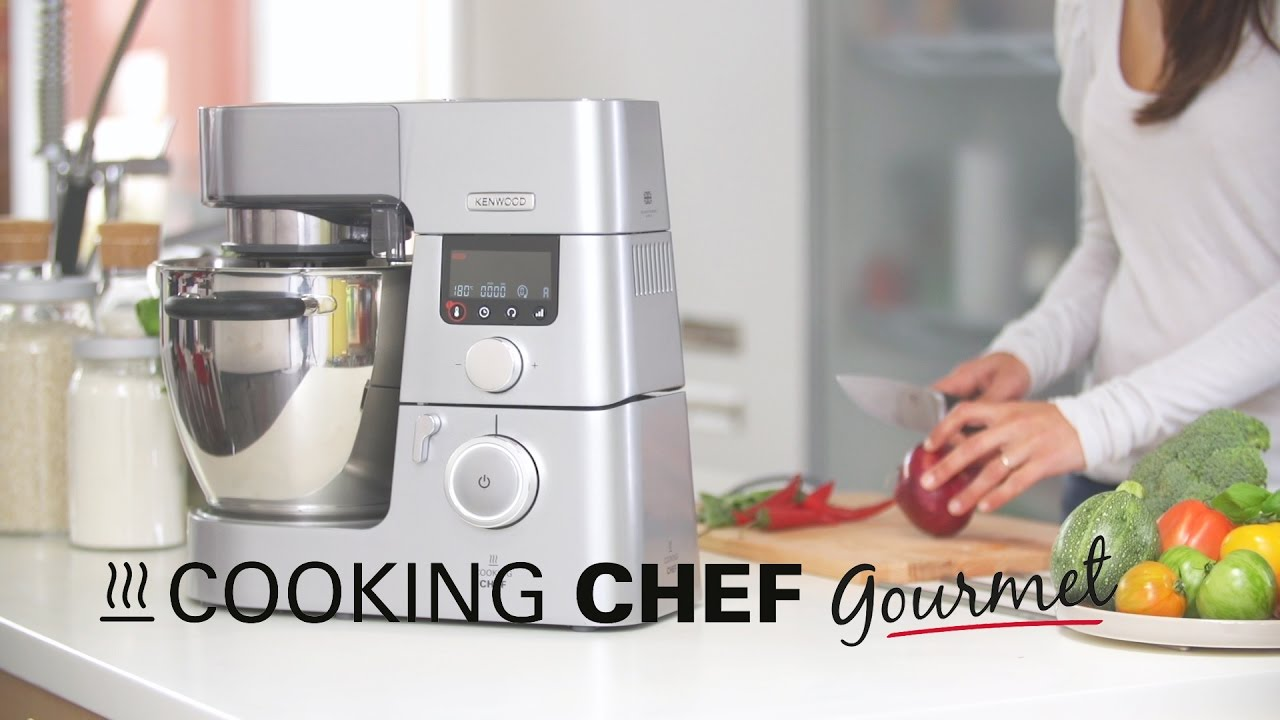 Chef Bimby: Caratteristiche Kenwood Cooking Chef Gourmet KM096