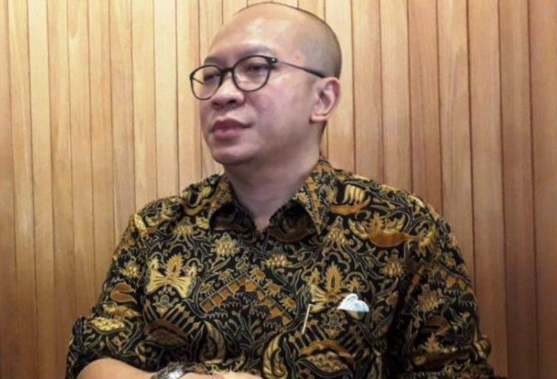 Corporate Secretary Baru Bright PLN Batam, Kishartanto Purnomo Putro Silahturahmi Bersama Rekan Media