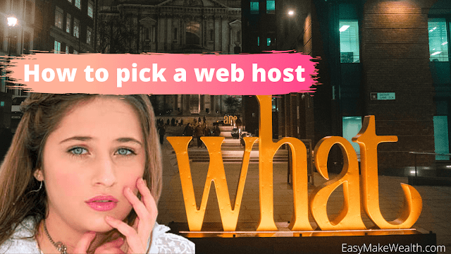 How to pick a web host