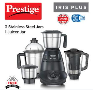2) Prestige IRIS PLUS mixer grinder