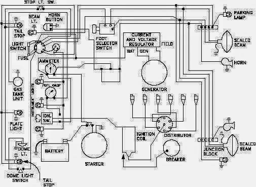 Automotive Wiring Diagrams On Electrical Schematics Reading Books