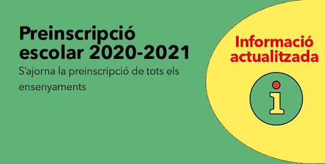 Preinscripció pel curs 2020-2021 ~ Institut Jaume Balmes