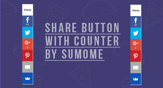 Widget Share Button dengan Counter Melayang di Blog