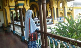 Lorong di Istana Maimun Medan