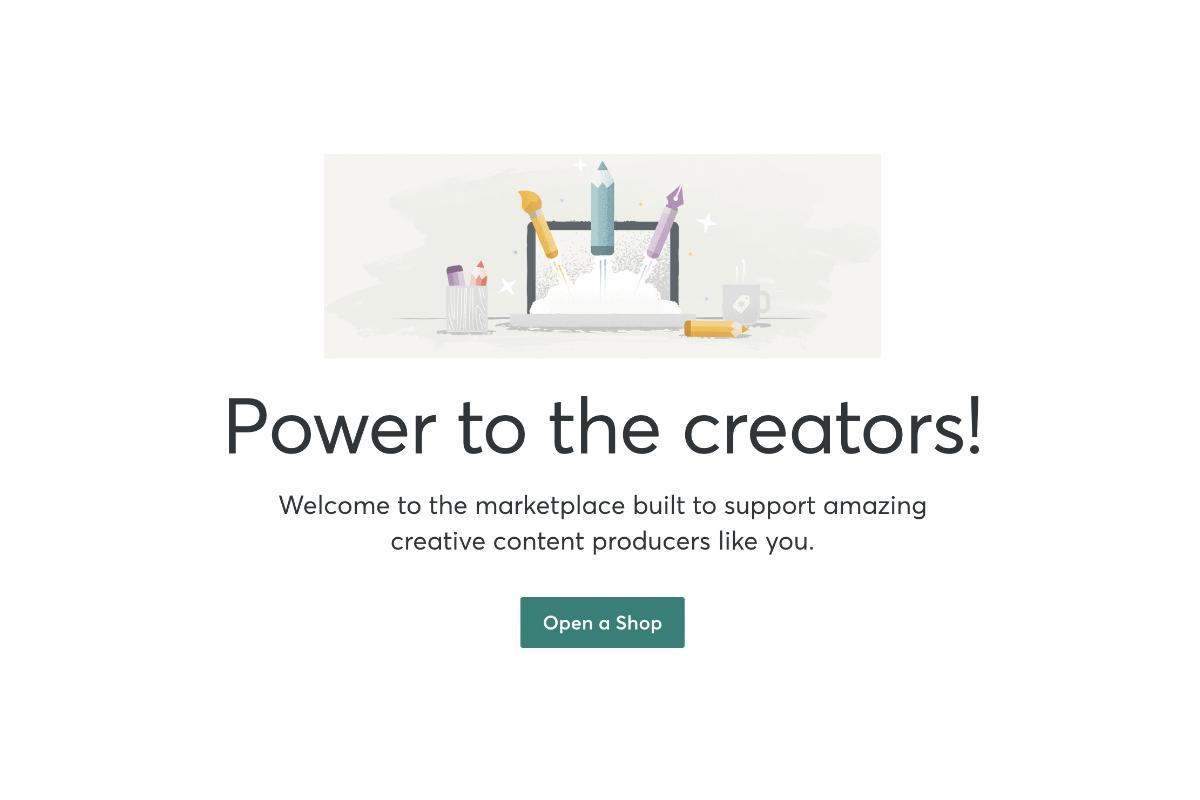 Come aprire un negozio su Creative Market