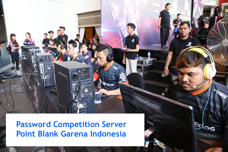 Password Competition Server PB Garena Indonesia Terbaru [Update]