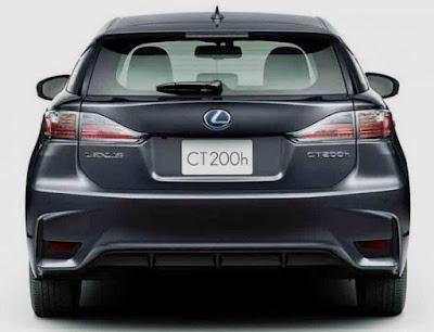 2018 Lexus CT200h Exterior Redesign