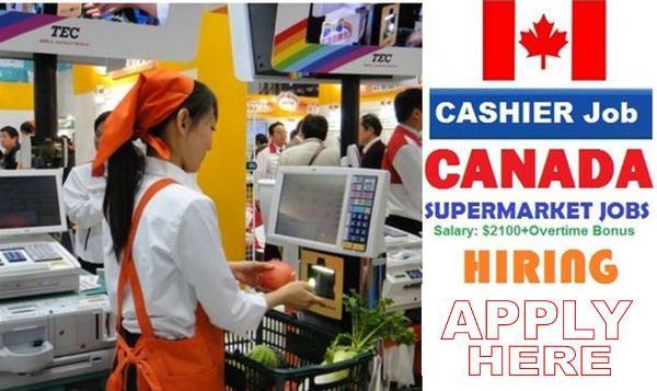 Supermarket Cashiers Job Vacancies in Canada With Free Visa - Apply Now