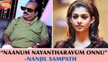 """Naanum Nayantharavum Onnu"" – Nanjil Sampath | Naughty Night Show | Black Sheep"