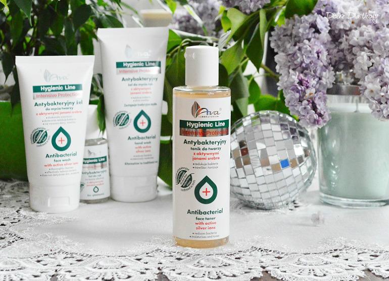 Ava Hygienic Line antybakteryjny tonik do twarzy - recenzja