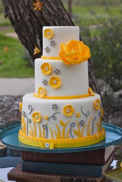 Coast to Coast Weddings: Yellow & Grey Wedding!