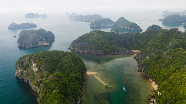 Ha Long Bay, Cat Ba - Nature Masterpiece Seen From The Sky 4