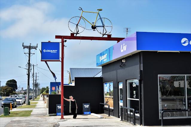 Devonport Public Art   Giant Bicycle