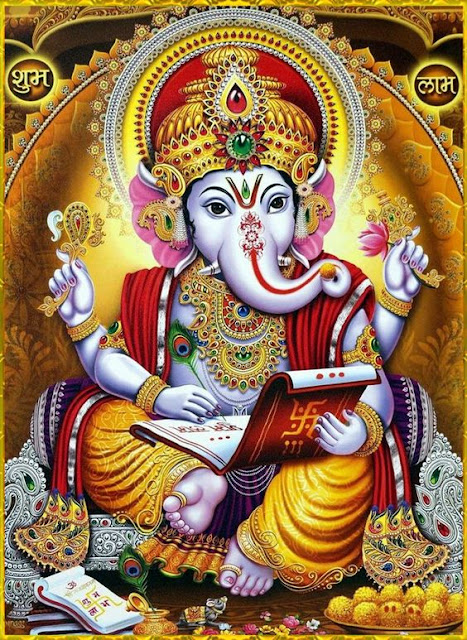 Ganesh Chalisa - Ganesh Chalisa With Lyrics in Hindi