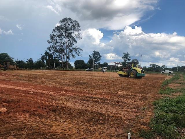 Senador Canedo: Obras do Cmei do Residencial Paraíso tem início