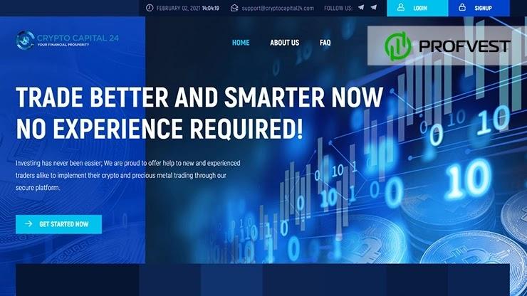Crypto Capital 24 обзор и отзывы HYIP-проекта