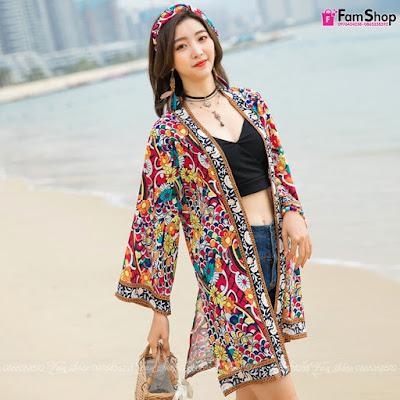 Shop bán áo choàng đi biển tại Hà Nội