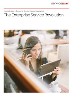 Source: ServiceNow report. Cover for the executive summary.